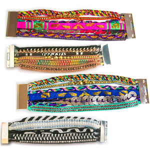 Magnetic Clasp Handmade Bracelet Fashion Jewelry (HBL-10856)