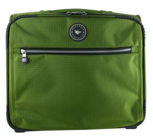 Green Color Trollley Bag Laptop Luggage Bags (ST7047B) pictures & photos