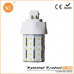CE RoHS SMD2835 700lm 6W LED Plug Lamp pictures & photos