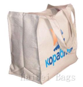 Durable Reusable Cotton Canvas Tote Bag (hbco-103) pictures & photos