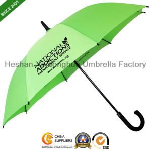 Quality Fiberglass Auto Straight Promotional Umbrellas (SU-0023FA) pictures & photos