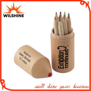Popular Bullet Wooden Color Pencil for Promotion (MP001) pictures & photos