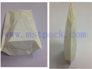 Fold Packaging Bag/ White Stand up Pouch pictures & photos