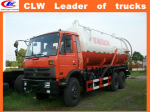 Dongfeng 6*4 Vaccume Sewage Suction Truck 6*4 pictures & photos