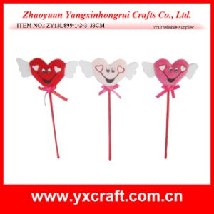 Valentine Decoration (ZY13L899-1-2-3) Cute Love Decoration with Wings Valentine Crafts pictures & photos