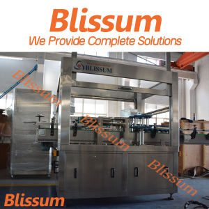 Hot Melt Glue Labeler for Water Filling Line pictures & photos