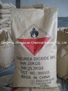 99% Tdo Tud, Thiourea Dioxide for Dyeing, Paper Making, Leath Treatment, as Deinking Pulp Bleaching, pictures & photos