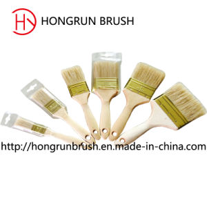 Wooden Handle Bristle Paint Brush (HYW028) pictures & photos
