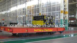 Workshop Rail Material Handling Transfer Cart pictures & photos