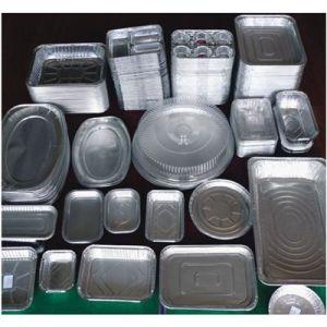 Aluminium/ Aluminum Semi-Rigid Container Foil with Non Lubrication 8011/3003 pictures & photos