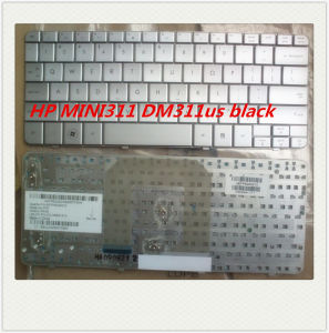 Laptop Keyboard for HP Pavilion Dm1/Dm1-1000/Mini 311 Silver Us Layout pictures & photos