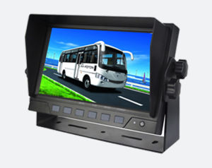 Hot Selling 7inch 2-CH Digital LCD Car Monitor Rear View Monitor for Fire Truck Bus pictures & photos