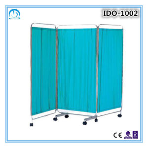 High Quality Stainless Steel Hospital Bed Screen Curtain pictures & photos