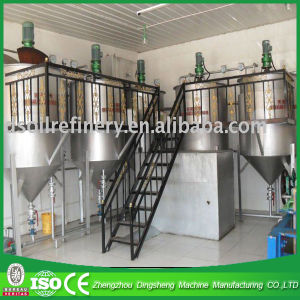 Manufacturing Crude Cottonseed Oil Refining Equipment pictures & photos