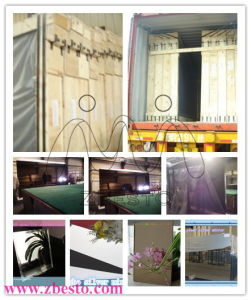 Fashion Design Customised Clear Silver Float Glass Mirror pictures & photos