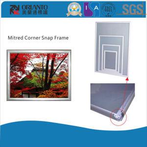25mm Mitred Corner Aluminium Snap Frame pictures & photos
