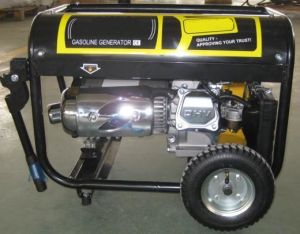Gasoline Generator with Motorcycle Silencer pictures & photos
