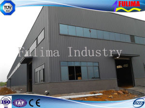 Prefabricated Building with Long-Span Spatial Steel Structure (SSW-006) pictures & photos