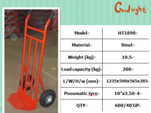 Load Capacity 200kg Hand Trolley pictures & photos