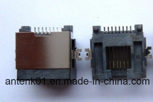 RJ45 8p8c Sink in Type 5.50mm Half Shield pictures & photos