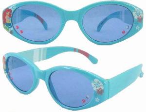 Fashionable Plastic Kid Sunglasses En71 UV400 (SPK446078) pictures & photos