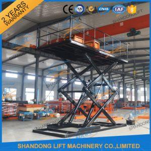 Hydraulic Car Stationary Scissor Lift Platform / Car Lift Table pictures & photos