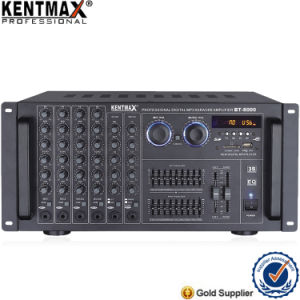 High Class Double 9 Equalizer MP3 Professional Karaoke Mixer Amplifier pictures & photos