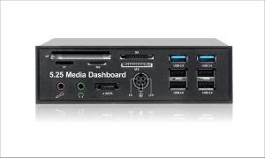 "5.25"" USB3.0 Internal Card Reader Front Panel"