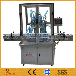 Good Supply 4 Nozzels Automatic Bottle Liquid Filling Machine pictures & photos