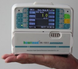 Peristaltic Mini Medical Infusion Pump with CE pictures & photos