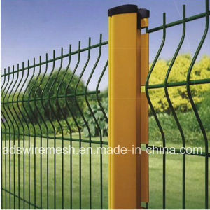 Galvanized Triangular Bending Wire Mesh Fence (Factory ISO9001) pictures & photos