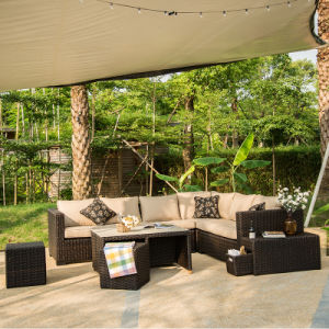 Chinese PE Outdoor Sofa Rattan/ Wicker Sofa (S338) pictures & photos