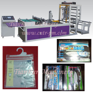 LDPE Plastic Zipper Bag Making Machinery (TR-ZB600) pictures & photos