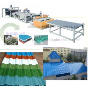 Plastic Roof Tile Line pictures & photos