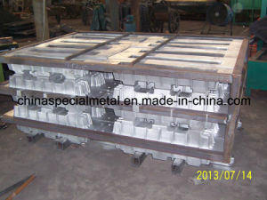 Spheroidal Graphite Cast Iron Ingot Mold and Sow Mold pictures & photos