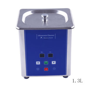 Mini Ultrasnonic Cleaner/ Jewelry Cleaner Ud50s-1.3lq with Timer
