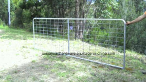 Chain Link Fence with Brace for Livestock pictures & photos