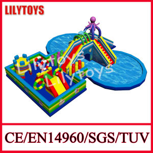 Inflatable Water Park / Inflatable Swimming Pool and Slide pictures & photos