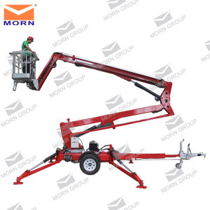 14m Battery Cherry Picker Trailer for Sale pictures & photos
