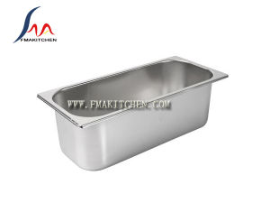 Stainless Steel Ice Cream Pan, Ice Cream Container, Many Sizes Available pictures & photos
