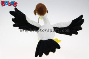 "7.5""Height White Crane with Car Package Mascot Toys Customized Stuffed Animal Toy Bos1124 pictures & photos"