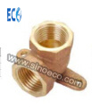 Brass Wallplate Female Elbow Fittings pictures & photos