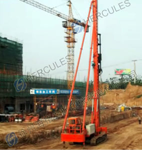 Diesel Hammer Pile Driver -Crawler Type pictures & photos