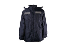 Heavy Duty Navy Mens Safety Waterproof Winter Coat with 2′′ Reflective Tape pictures & photos
