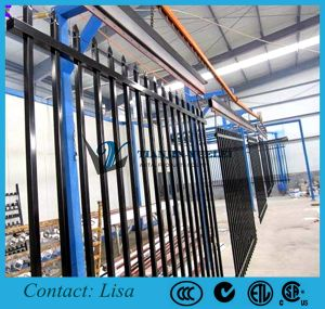 PVC Coated Pressed Spear Top Fencing pictures & photos