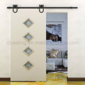 Black Sliding Door System Sliding Door Hardware (LS-SDU 6009) pictures & photos