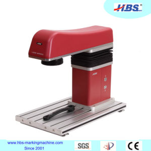 Overseas After Sales Service Team Available 20W Fiber Laser Marking Machine for PVC Marking pictures & photos