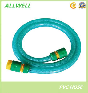 PVC Plastic Fiber Braided Garden Water Shower Pipe Hose pictures & photos
