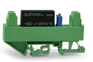 Compact Standard DIN Rail-Mounted Active 4-20mA Input Loop Powered Converter (DIN3 ISO 4-20mA-E) pictures & photos