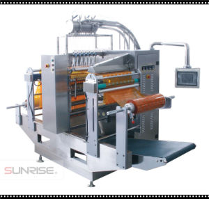 Liquid Double Film Four-Side Sealing & Multi-Line Packing Machine